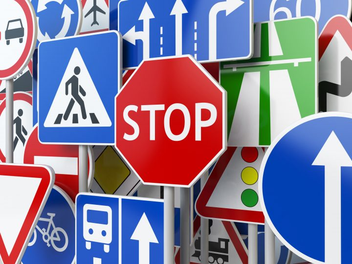 road signal icon